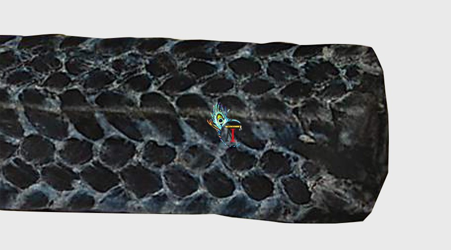 Metallic Carbon Filament Packing (MI-3915IH)